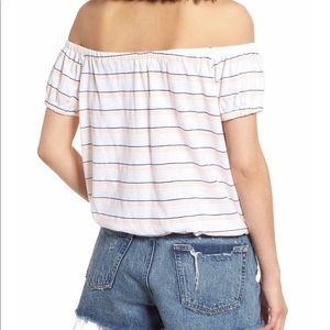 Sundry Tops - Sundry Off the Shoulder Tee NWT